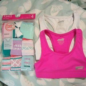 Panties & bra's set